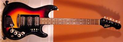 Vintage 1960's Hofner Galaxie Electric Guitar