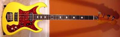Vintage 1960's Kawai Monster Electric Bass Guitar