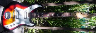 Vintage 1960's Norma Burns Copy Electric Guitar