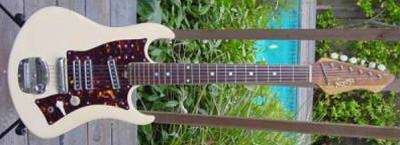 Vintage 1960's Norma Electric Guitar