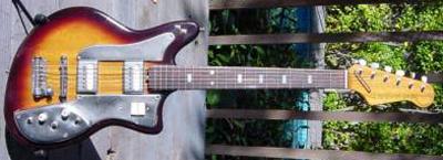 Vintage 1960's Regent Electric Guitar