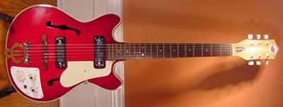 Vintage 1960's Teisco EP-7 Electric Guitar