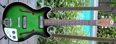 Vintage 1960's Teisco EP7T Electric Guitar