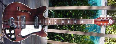 Vintage 1960's Teisco ET-??? Electric Guitar