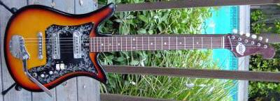 Vintage 1960's Teisco ET-200 Electric Guitar