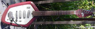 Vintage 1960's Teisco EV3T Electric Guitar