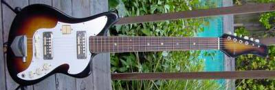 Vintage 1960's Tradition Zenon Electric Guitar