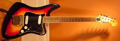 Vintage 1960's Univox U2 Electric Guitar