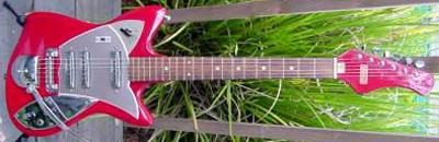 Vintage 1960's Victoria Electric Guitar