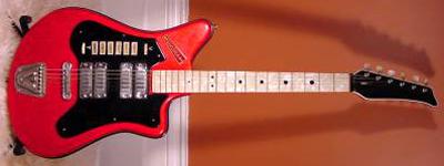 Vintage 1960's Vivona Electric Guitar