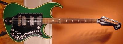 Vintage 1960's Wandre Doris Electric Guitar