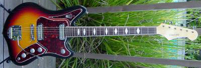 Vintage 1960's Welson Concord Electric Guitar