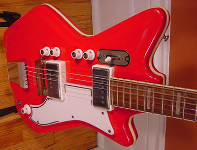 Vintage 1962 Airline Res-O-Glass Electric Guitar
