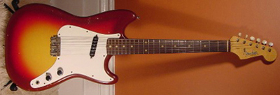 Vintage 1962 Fender MusicMaster Electric Guitar