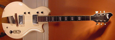 Vintage 1963 Supro Res-O-Glass Electric Guitar