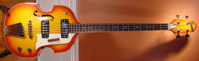 Vintage 1967 Domino Electric Bass Guitar