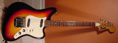 Vintage 1967 Domino Spartan Electric Guitar