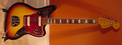 Vintage 1967 Fender Jaguar Electric Guitar