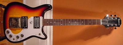 Vintage 1970's Epiphone Crestwood Electric Guitar