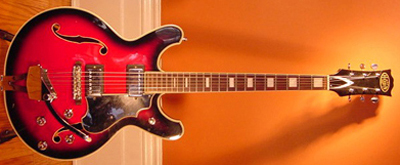 Vintage 1970 Hohn Electric Guitar