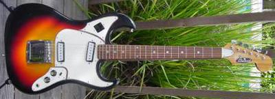 Vintage 1970's Aria Burns Copy Electric Guitar