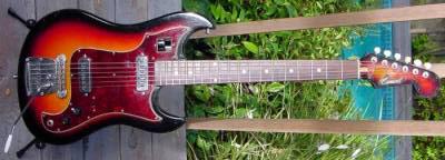 Vintage 1970's Conrad Electric Guitar