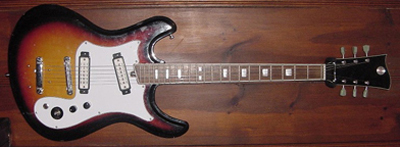 Vintage 1970's Custom Mosriteko Electric Guitar