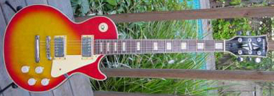 Vintage 1970's Hondo II Les Paul Electric Guitar