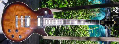 Vintage 1970's Hondo Les Paul Les Paul Guitar (set neck)