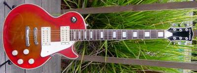 Vintage 1970's Hyundai Les Paul Electric Guitar
