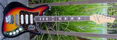 Vintage 1970's Kawai Electric Guitar (with 3 pickups)