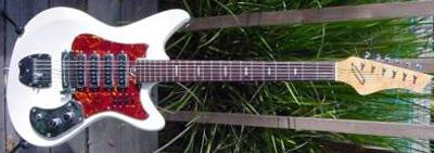 Vintage 1970's Kawai Electric Guitar (with 4 pickups)