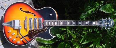 Vintage 1970's Kawai ES-175 Electric Guitar