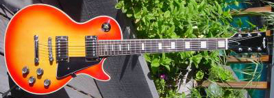 Vintage 1970's Lotus Les Paul Electric Guitar