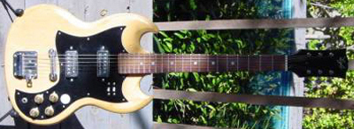 Vintage 1970's Lyle SG Electric Guitar