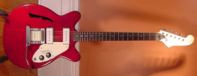 Vintage 1970's Microfret Calibra II Electric Guitar
