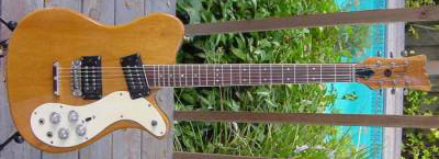 Vintage 1970's Mosrite 350 Stereo Electric Guitar