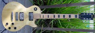 Vintage 1970's Sekova Les Paul Electric Guitar