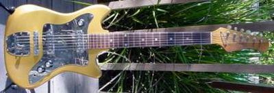 Vintage 1970's Tele-Star Electric Guitar