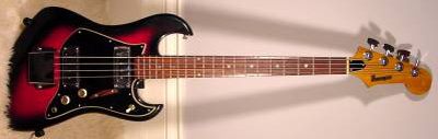 Vintage 1970's Tempo Electric Bass Guitar