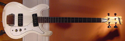 Vintage 1970's Univox Electric Bass Guitar