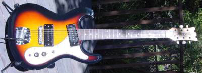 Vintage 1970's Univox Hi-Flyer Electric Guitar