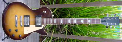 Vintage 1970's Univox Les Paul Electric Guitar
