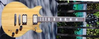 Vintage 1980's Aria Electric Guitar (set neck)