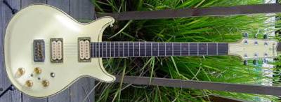 Vintage 1980's Lotus Electric Guitar (set neck)