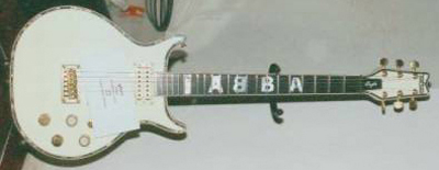 Vintage 1980's Washburn Eagle ABBA Electric Guitar
