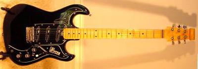 Vintage 1982 Burns Marvin Electric Guitar