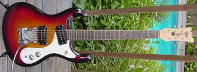 Vintage 1987 NOS Mosrite Ventures Model Electric Guitar