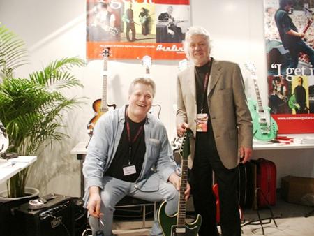 Musikmesse 2008: Wendell Ferguson & John Newman