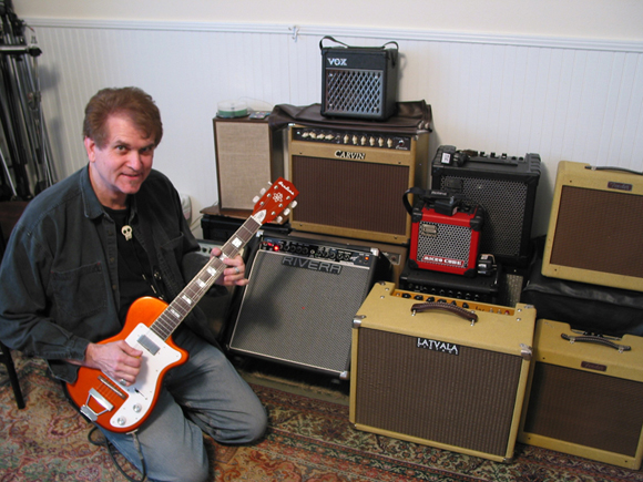 Will Ray with his H44 DLX
